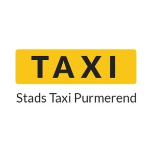 Stads Taxi Purmerend (S.T.P.) logo
