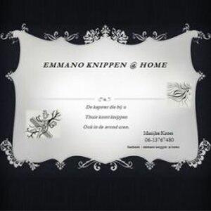 Emmano knippen @ home logo