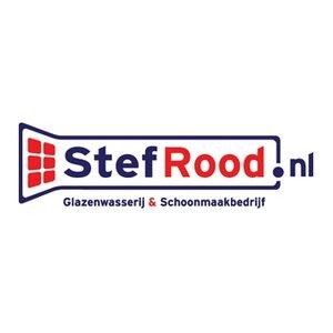 Stef Rood.nl Glazenwasserij en Schoonmaakbedrijf logo