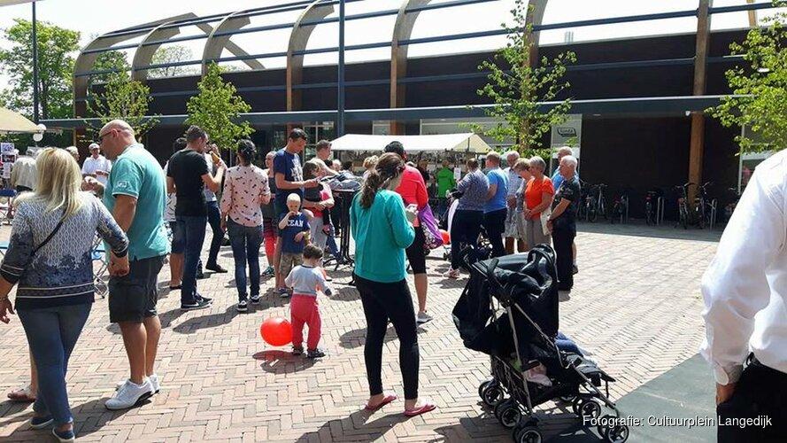 Komende zaterdag is het eindelijk weer Cultuurplein Langedijk
