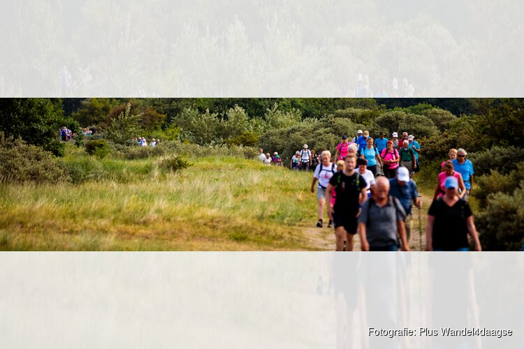 Plus Wandel4daagse met 6000 lopers van start