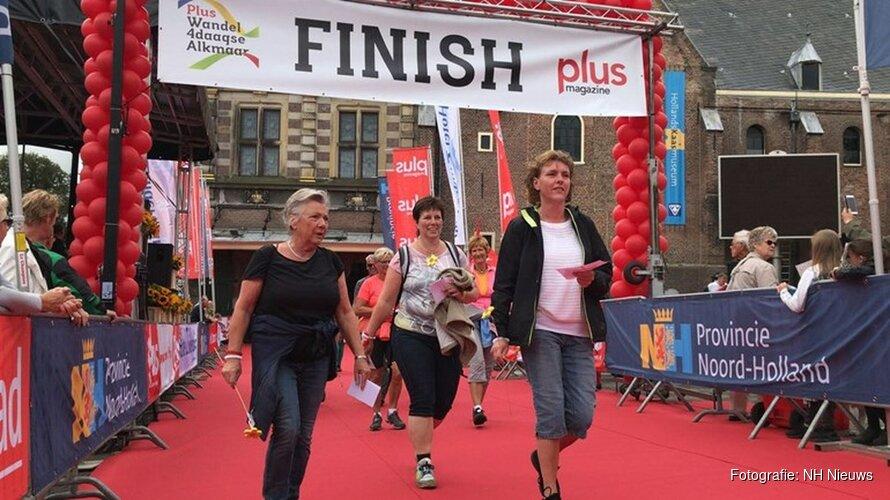Feestelijke slotdag Plus Wandel4daagse Alkmaar