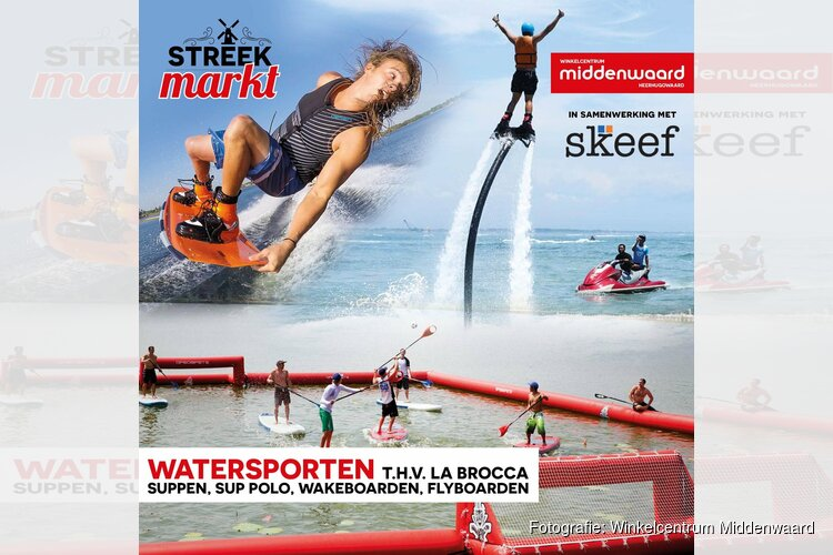 Streekmarkt & Diverse wateractiviteiten bij Middenwaard