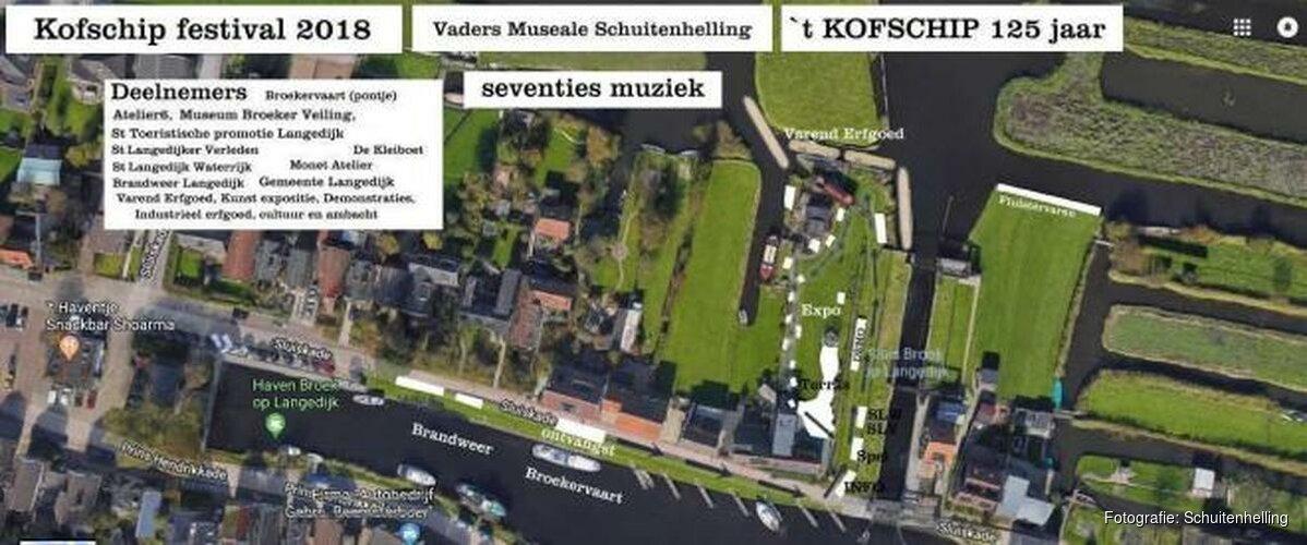 """Oudste schip van Langedijk geeft een feestje: """"Kijk, daar heb je nou 't kofschip"""""""
