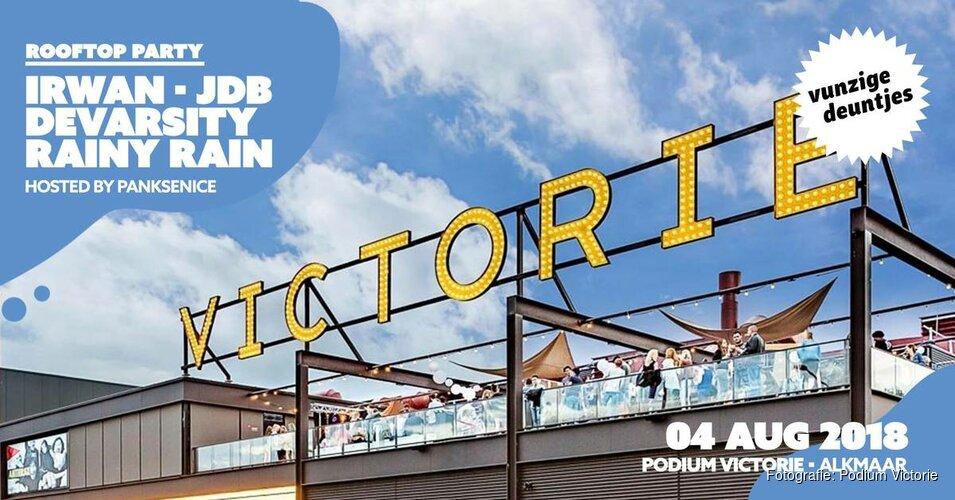 Rooftop-party's in Victorie: Barcode en Piña uitverkocht, Vunzige Deuntjes gaat supersnel