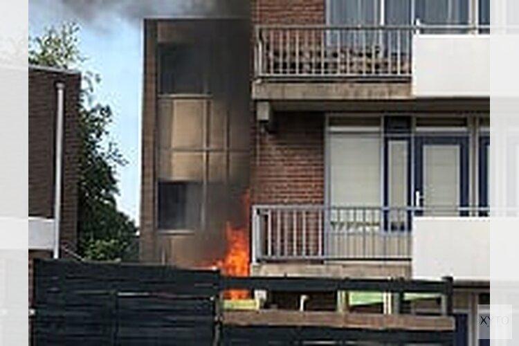 Brand in appartementencomplex Heerhugowaard