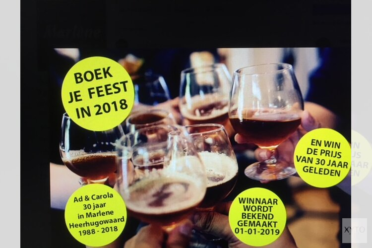 Boek je feest in Partycentrum Marlène dit jaar nog en win!