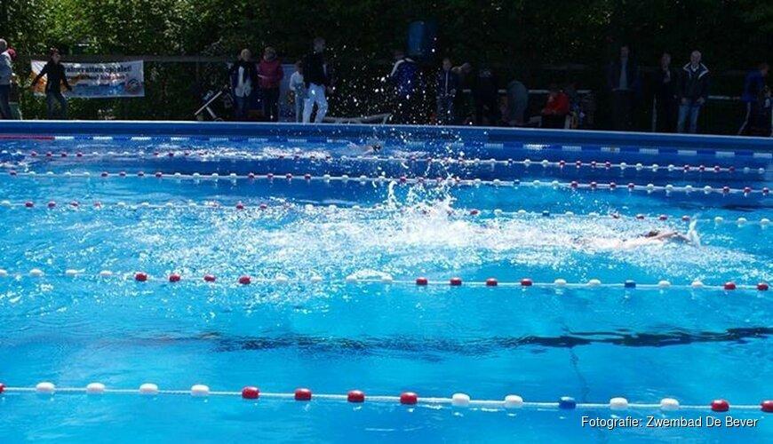 Sportief en smakelijk eindfeest bij Zwembad de Bever