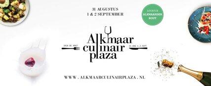 Alkmaar CulinairPlaza dit weekend van start