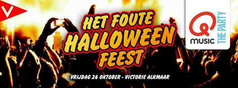 Net bevestigd: Het Q-Music Foute Halloween Feest komt naar Podium Victorie