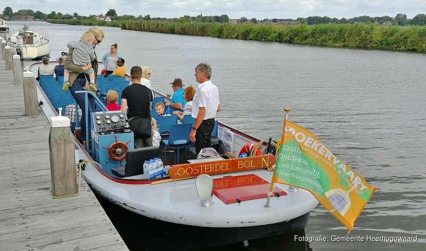 Vaar mee met De Broekervaart tijdens Open Monumentendag