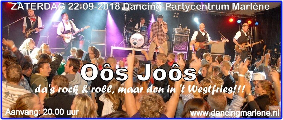 Feesten op z'n Westfries met Oôs Joôs komende zaterdag in Marlène
