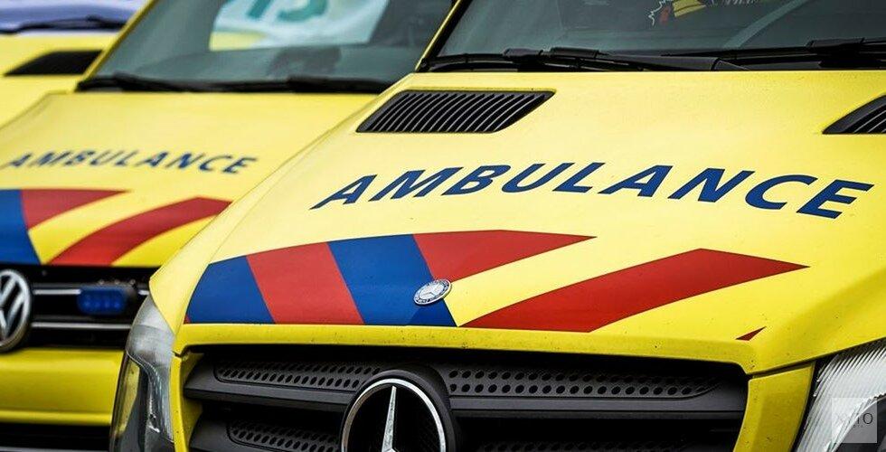 Bestuurster auto gewond na ongeval Schagerweg