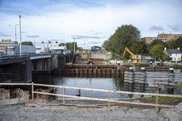 Werkzaamheden Leeghwaterbrug (N242) Alkmaar hervat