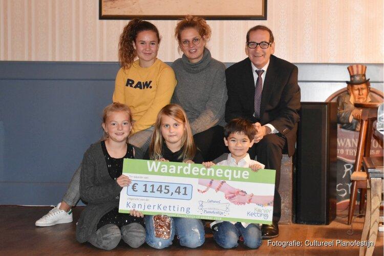 Ruim 1.100 euro opgehaald voor de KanjerKetting