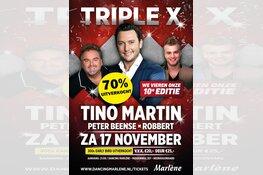 """""""Triple X"""" met Tino Martin bijna uitverkocht in Marlene !!"""