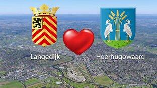 Verlovingsnieuws: Vanaf 2022 willen Langedijk en Heerhugowaard één gemeente vormen