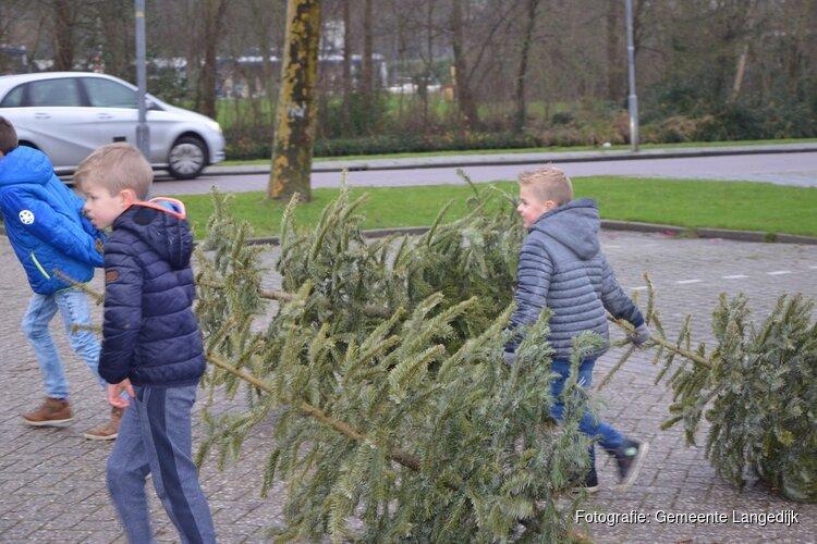 Inzameling kerstbomen