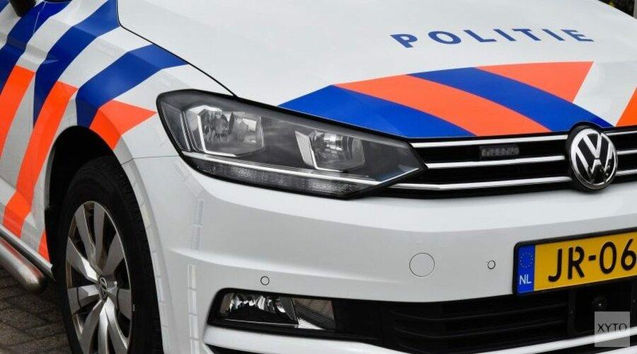 Bromfietser aangereden op Dorpsstraat