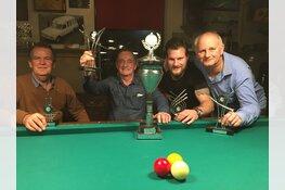John Bruin wordt 25e Open Langedijker Kampioen Driebanden