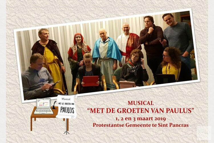 """Geloof, hoop en liefde: Musical """"Met de Groeten van Paulus"""" in Sint Pancras"""