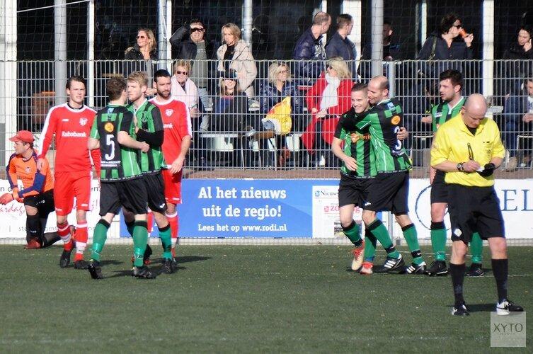 Vrone met tien man langs VV Bergen