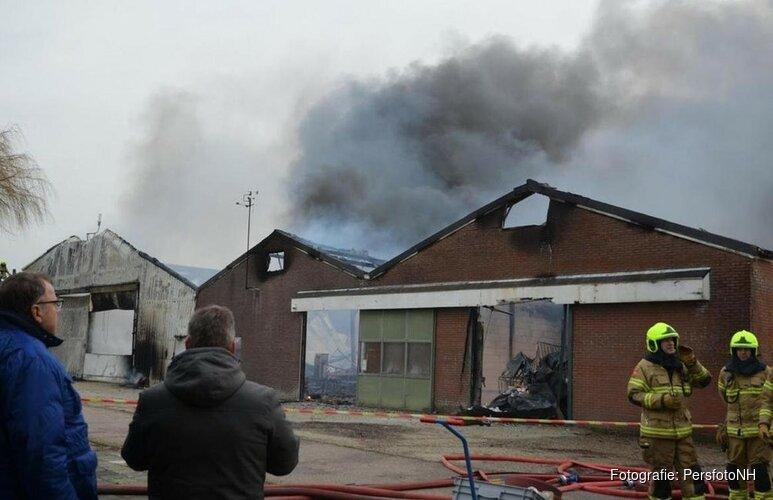 Asbest vrijgekomen bij brand Oudkarspel