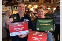 Café de Knip verkozen als beste café én eetcafé van Noord-Holland