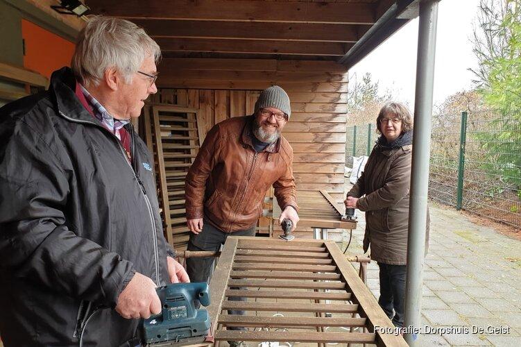 Succesvol NL-Doet weekend bij dorpshuis De Geist