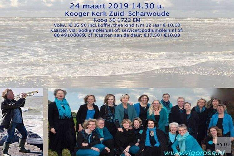 Zee, ziel & de stem Vigorosa & Zijlstra, o.l.v. Saskia Diel. Zondag in de Koogerkerk