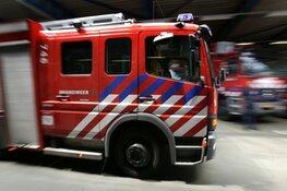 Grote brand verwoest loods op bedrijventerrein in Alkmaar