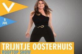 Trijntje Oosterhuis komt voor rooftop-show naar Podium Victorie