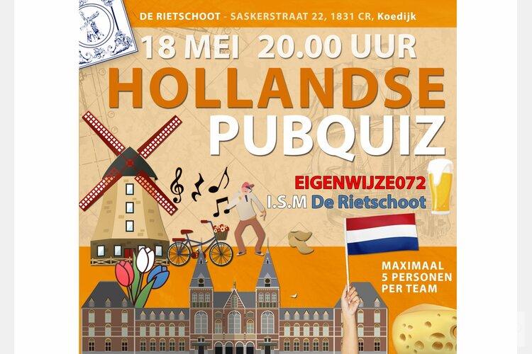 Hollandse Pub quiz in de Rietschoot