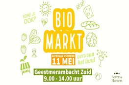 Biomarkt bij Lovers & Hunters Geestmerambacht