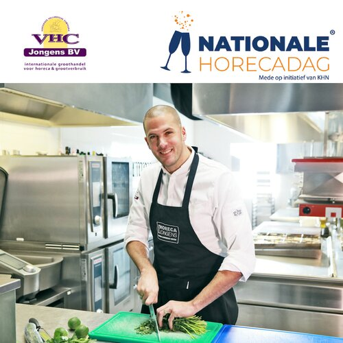 VHC Jongens is trotse partner eerste editie Nationale Horecadag