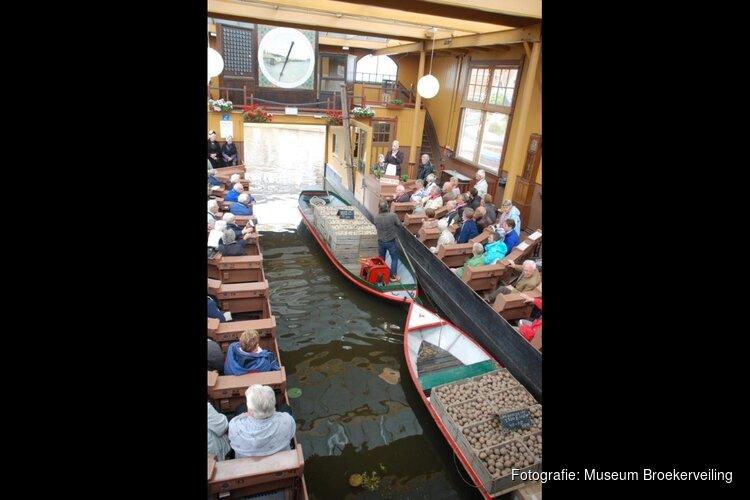 Unieke doorvaarveiling met Langedijker Eerstelingen