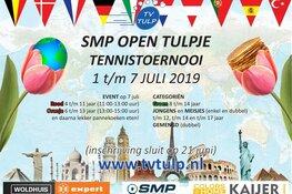 SMP Open Tulpje krijgt internationaal tintje