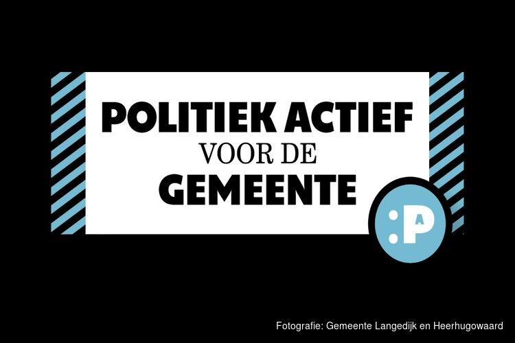 Gratis cursus Politiek Actief voor inwoners Langedijk en Heerhugowaard