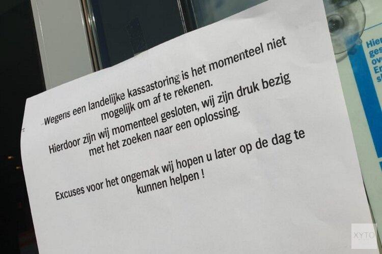 Grote kassastoring bij Albert Heijn, alleen zelfscanners werken
