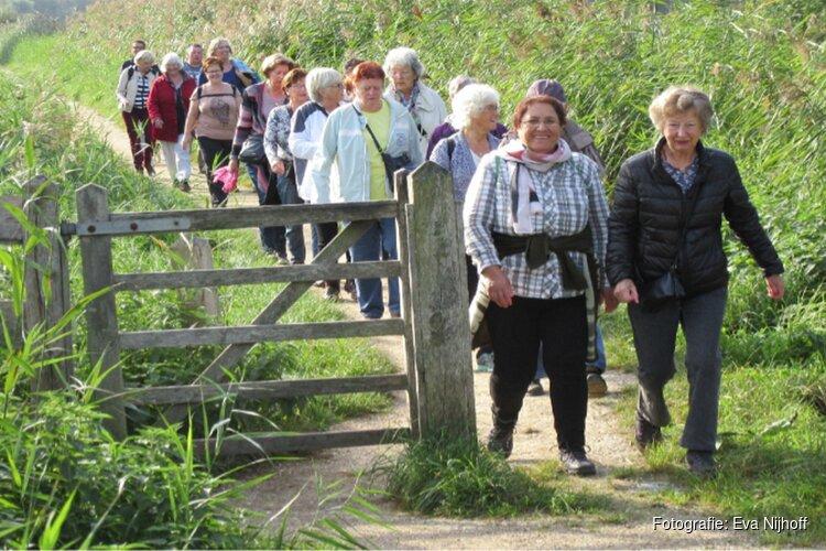 Wekelijks wandelen in Heerhugowaard en Langedijk