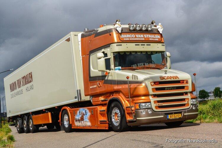 Marco van Stralen uit Zuid-Scharwoude kanshebber op eretitel Mooiste Truck van Nederland