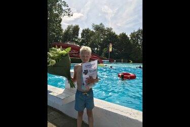 Zwembad de Bever ontvangt 25.000ste bezoeker
