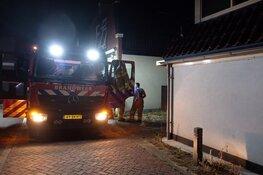 Brand in wasdroger in Zuid-Scharwoude