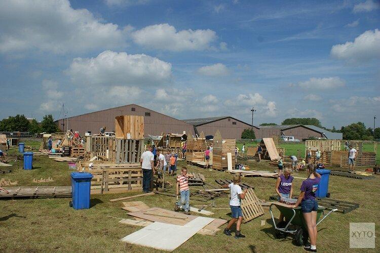 Vrijwilligers gezocht voor het bouwdorp in Oudkarpsel