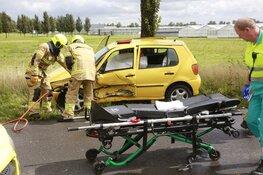 Twee gewonden bij ernstig ongeval N242
