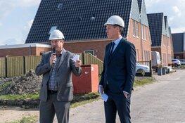 Wethouder Nils Langedijk had de eer om het project te mogen openen