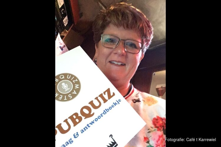 Zaterdag 12 oktober quizzen in Café 't Karrewiel