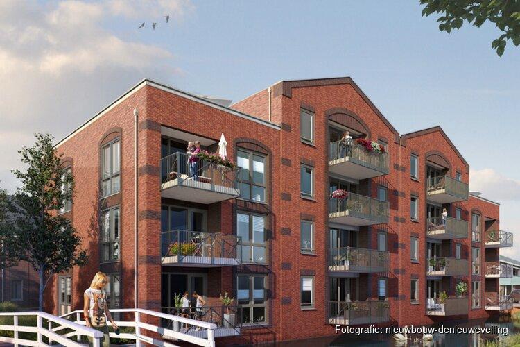 Verkoop 14 appartementen De Nieuwe Veiling –  Noord-Scharwoude van start