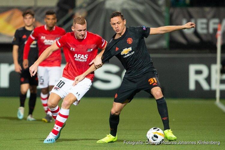 AZ verdient meer tegen Manchester United