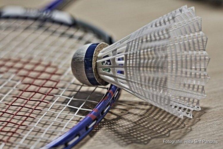 De Recreatieve Badminton vereniging Sint Pancras is weer begonnen